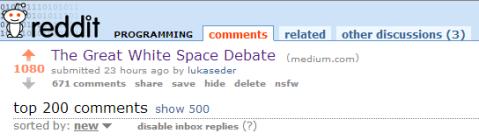 Whitespace-Shedding