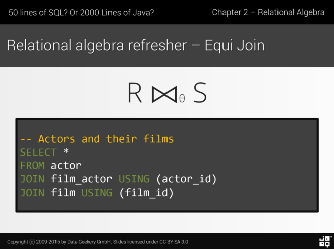 Semi Join And Anti Join Should Have Their Own Syntax In Sql Java