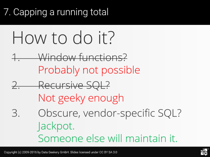 10 SQL Tricks That You Didn't Think Were Possible – Java